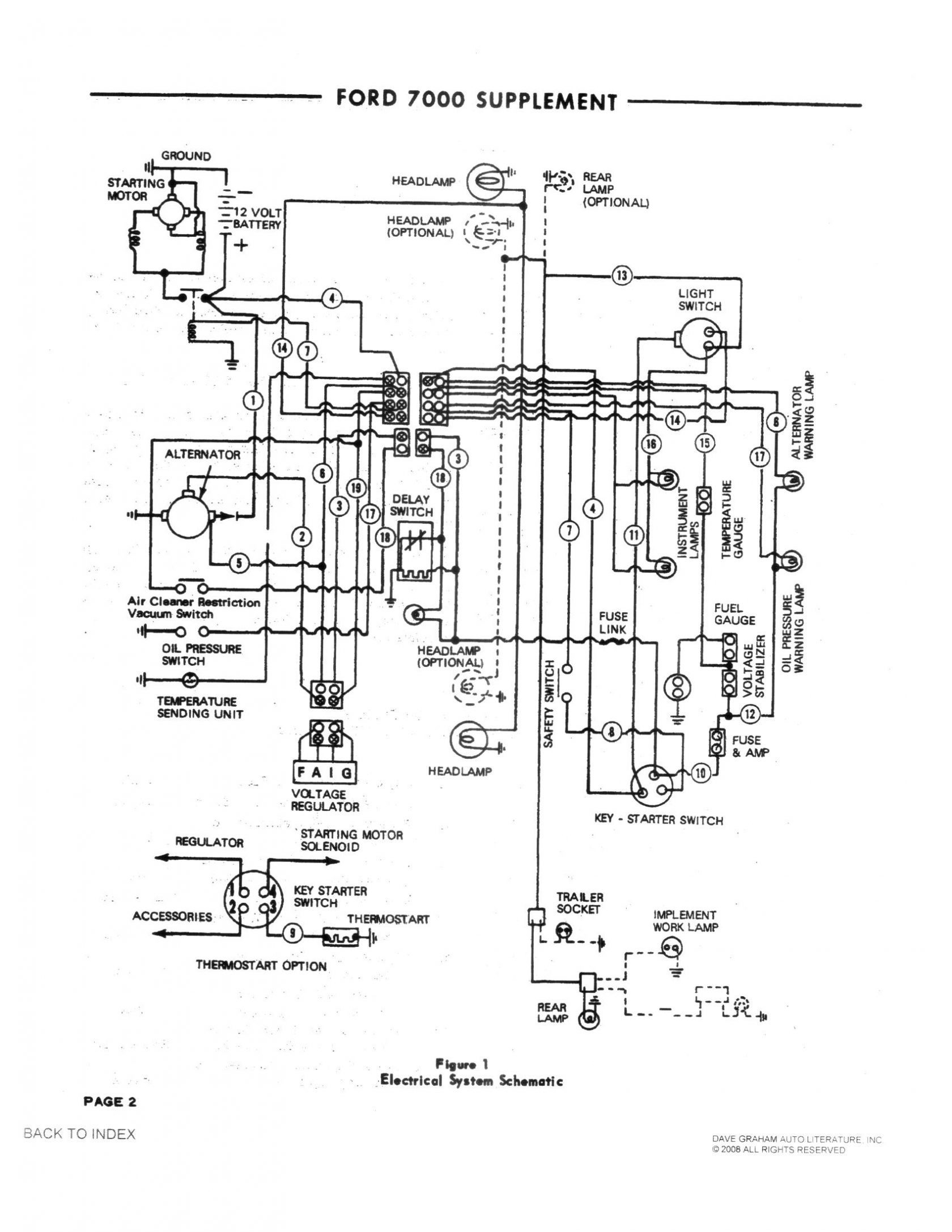 1 Wire Alternator Diagram