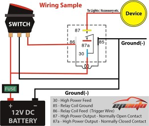 120 Volt Relay Wiring Diagram | Free Wiring Diagram