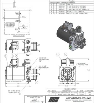 12v Hydraulic Pump Wiring Diagram | Free Wiring Diagram
