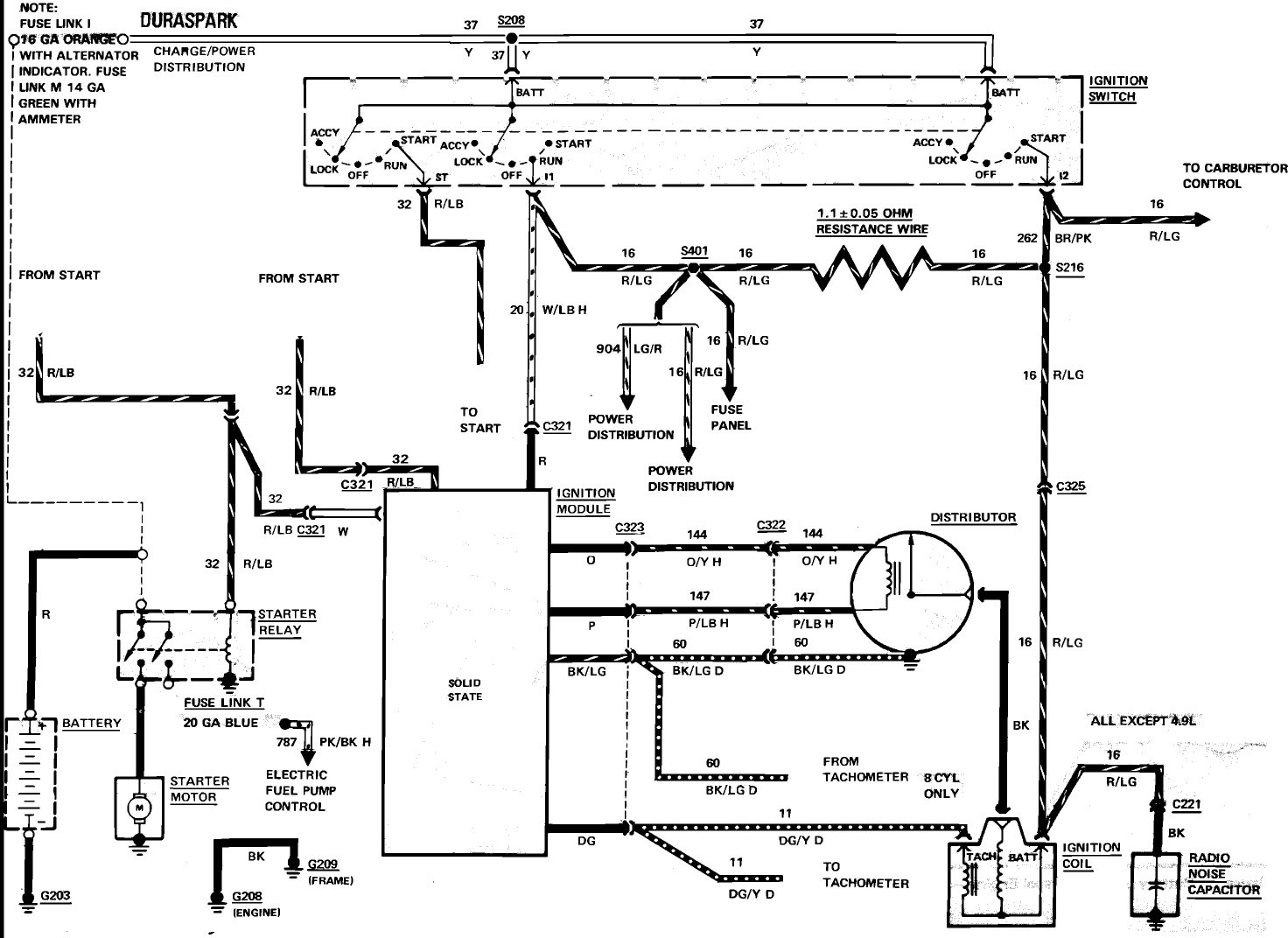 Ignition Wiring Diagram For F150