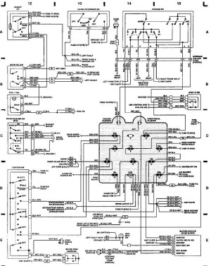 1993 Jeep Wrangler Wiring Schematic | Free Wiring Diagram