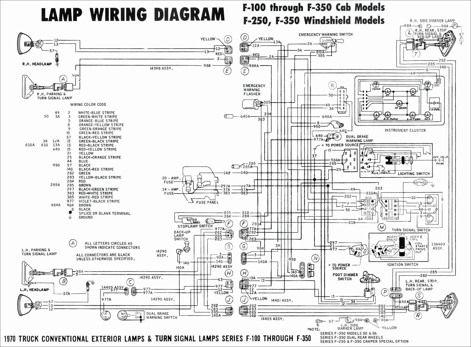 Chevy Brake Light Wiring Diagram