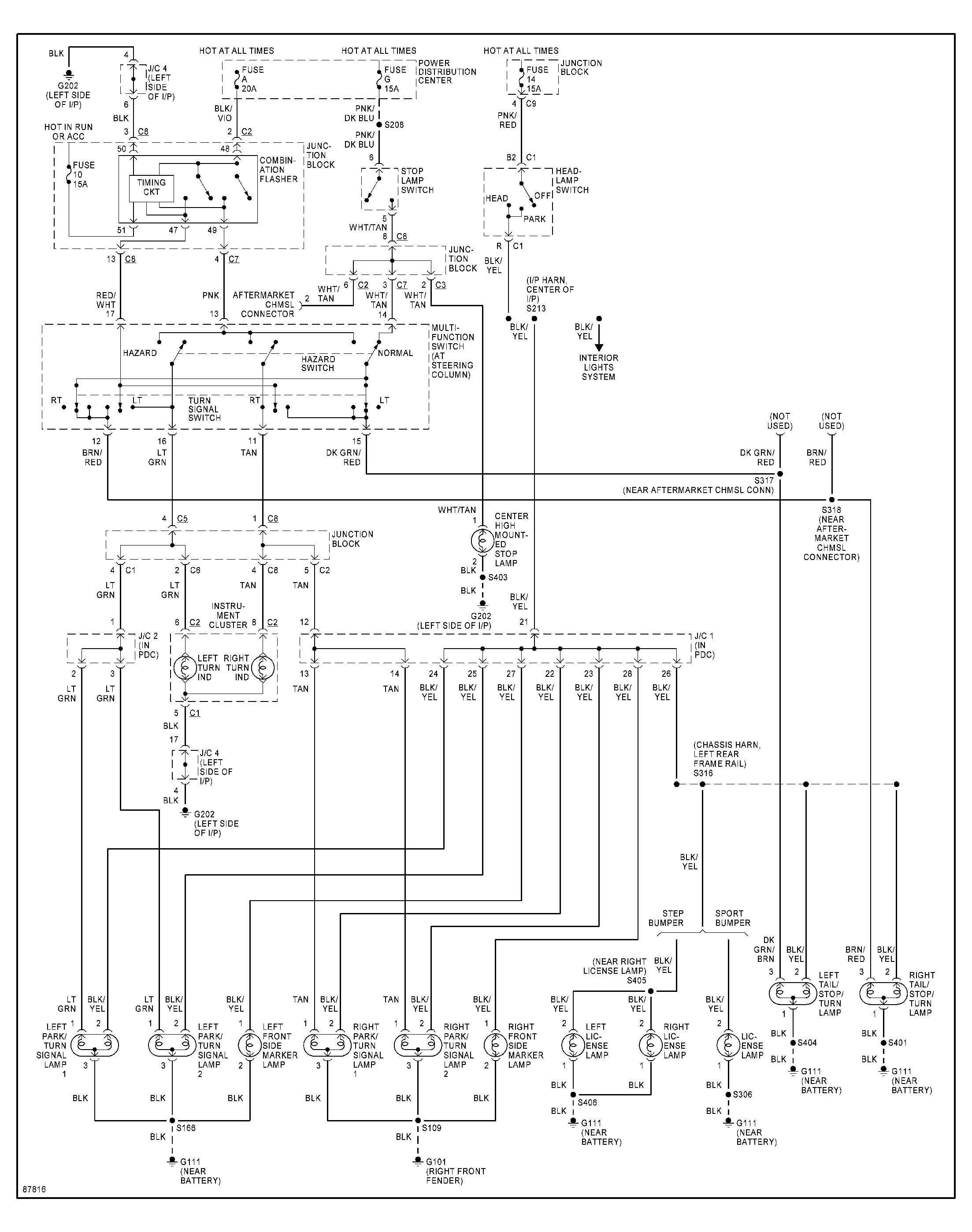 Wiring Diagram Dodge Wiring Schematic Diagram