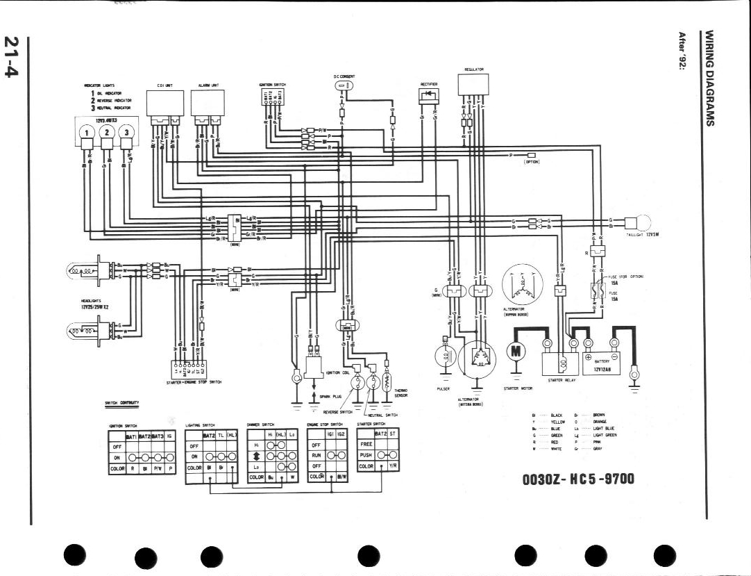 621A4F8 1999 Honda 300 Fourtrax Wiring Diagram | Wiring ResourcesWiring Resources