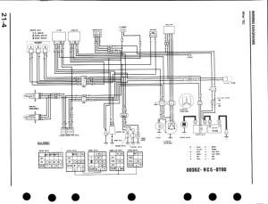 1998 Honda Fourtrax 300 Wiring Diagram   Free Wiring Diagram