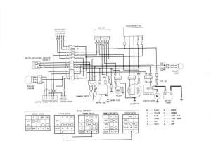 1998 Honda Fourtrax 300 Wiring Diagram | Free Wiring Diagram