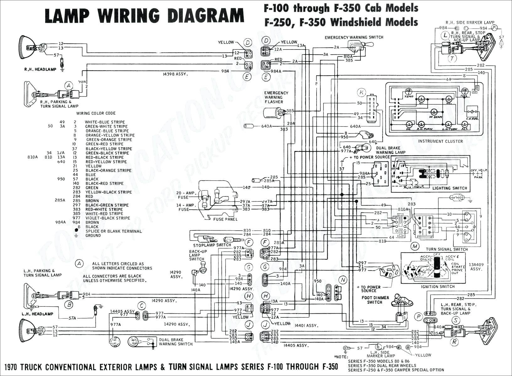 99 F150 Radio Wiring Diagram