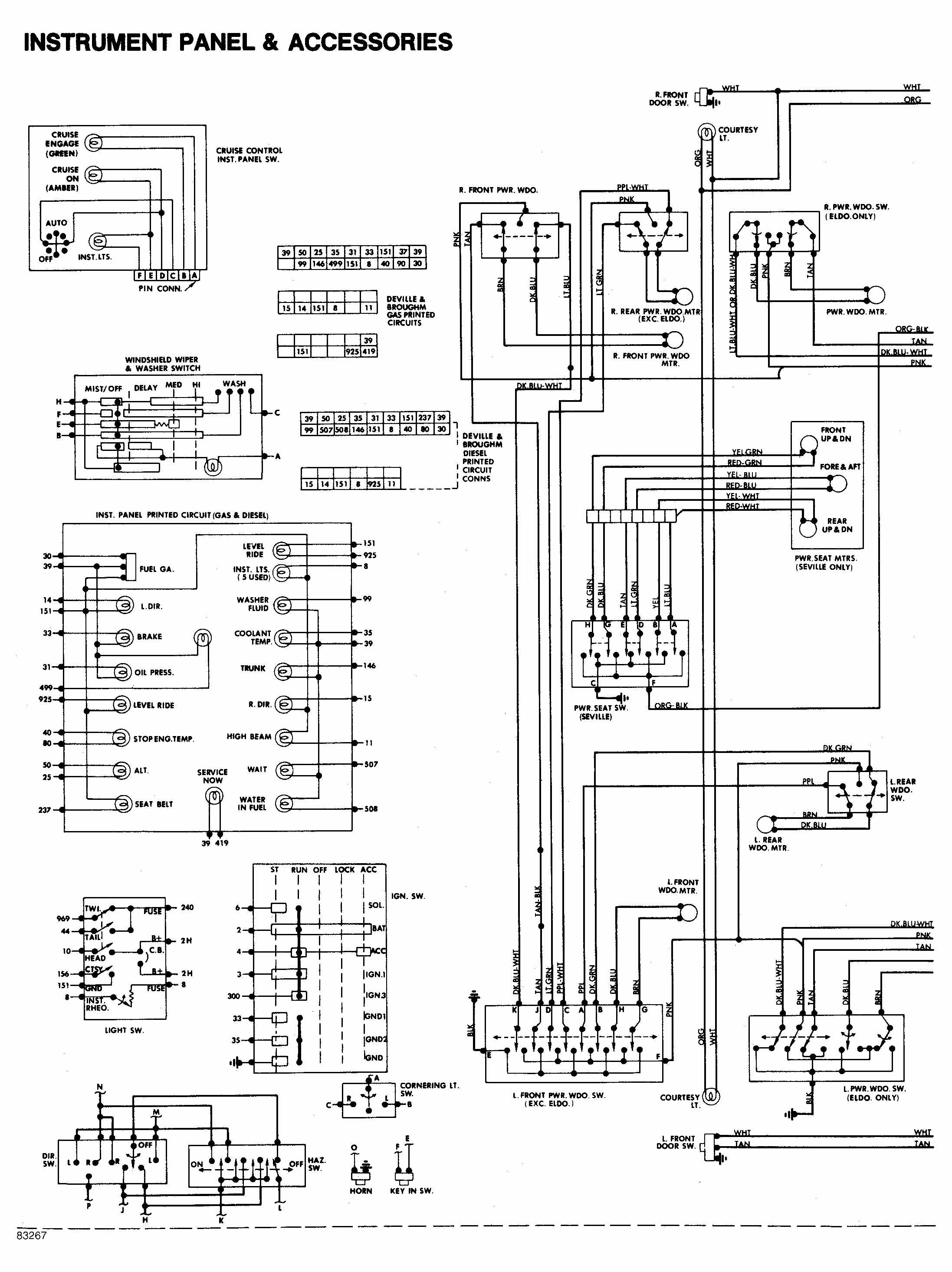 Wiring Schematic For A Cadillac Escalade