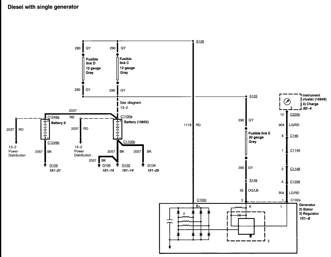 2000 Ford Excursion Engine Diagram