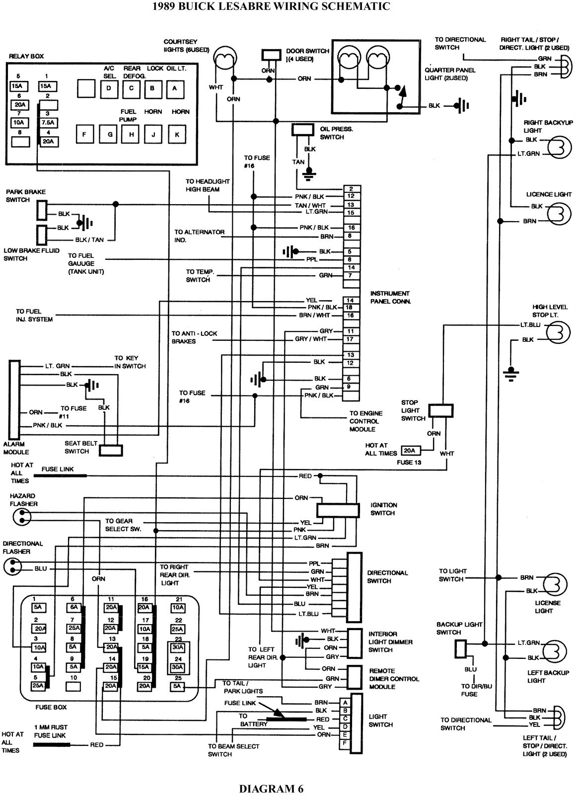 Buick Century Stereo Wiring Diagram