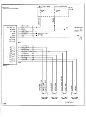 2002 ford Explorer Radio Wiring Diagram | Free Wiring Diagram
