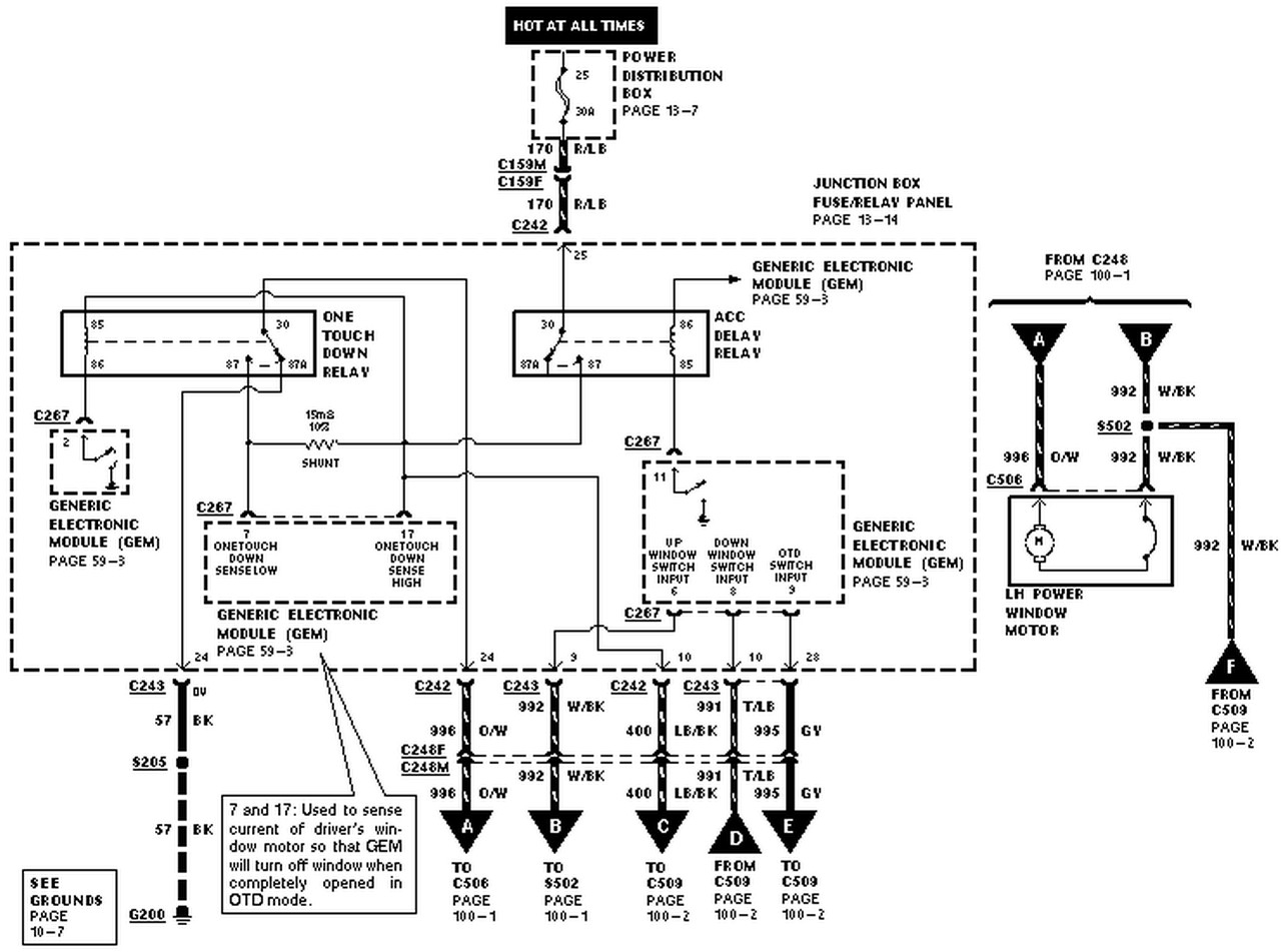 Ford Explorer Wiring Schematic