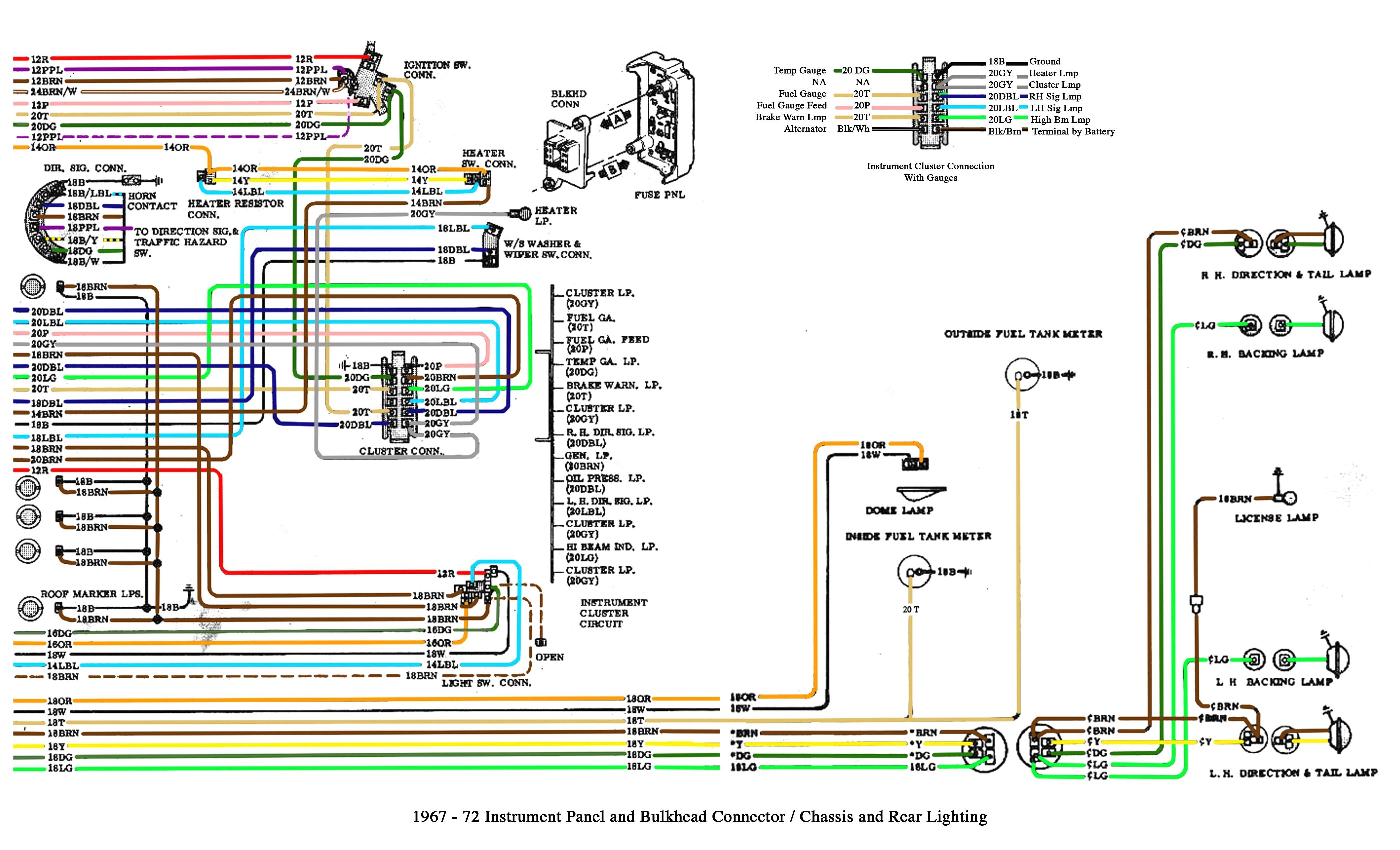 2002 Chevy Malibu Radio Wiring Diagram 1965 Chevelle Wiring Diagram