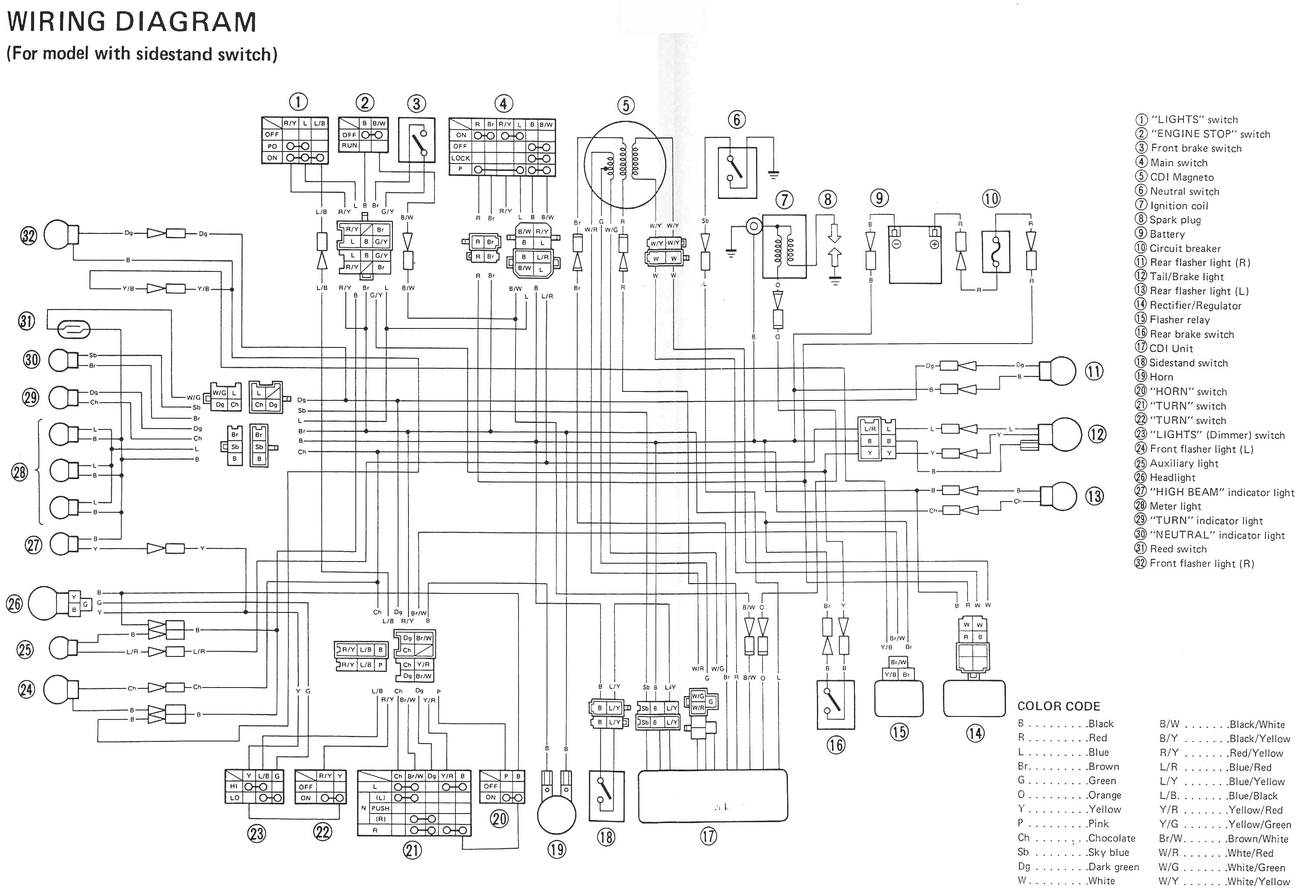 Yfz 450 Schematic