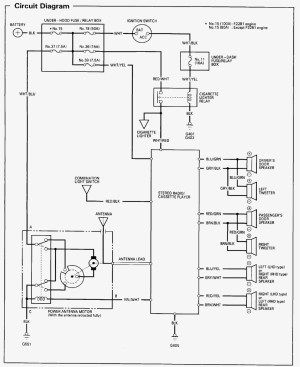 2005 Honda Element Stereo Wiring Diagram | Free Wiring Diagram