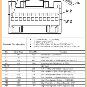 2007 Chevy Silverado Radio Wiring Harness Diagram | Free