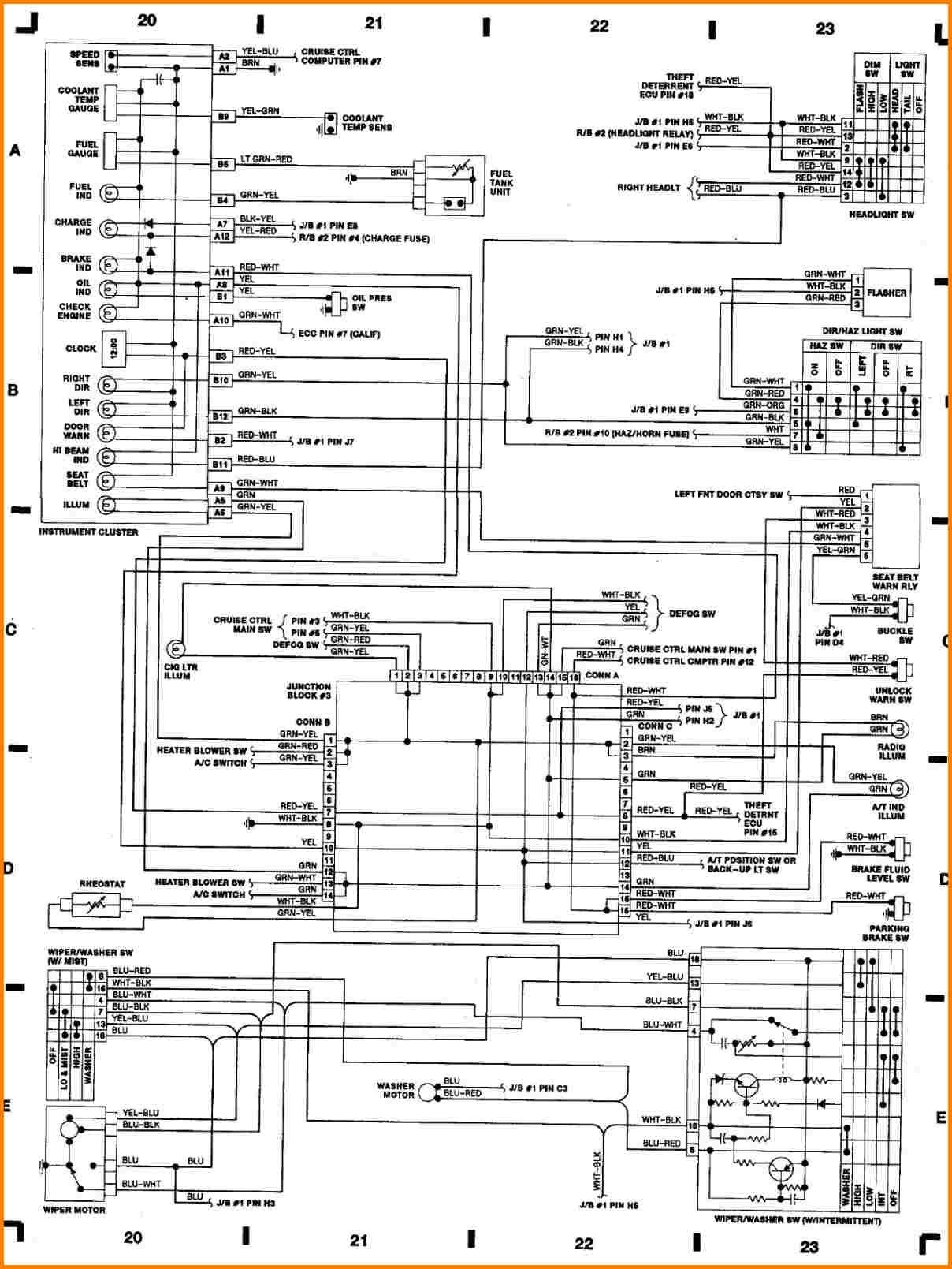 Toyotum Ignition Switch Wiring Diagram