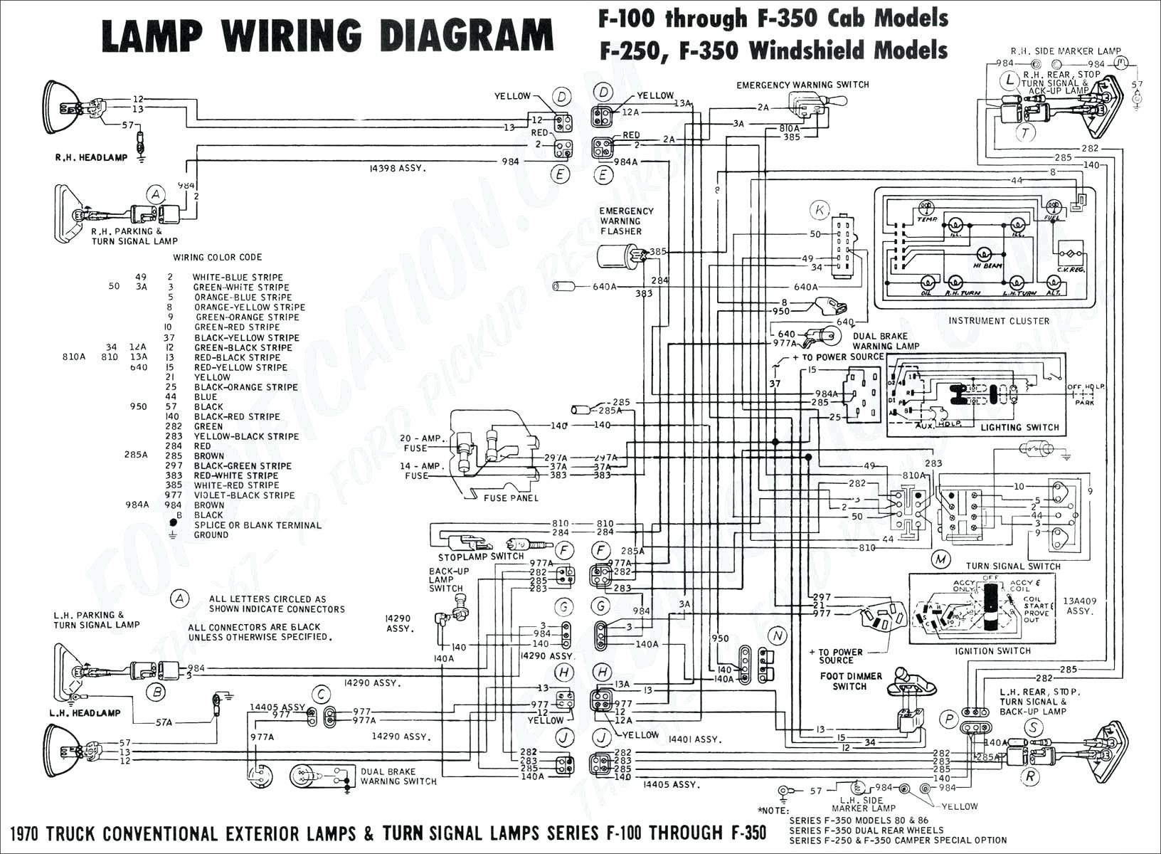 Ford F100 Radio Wiring Diagram