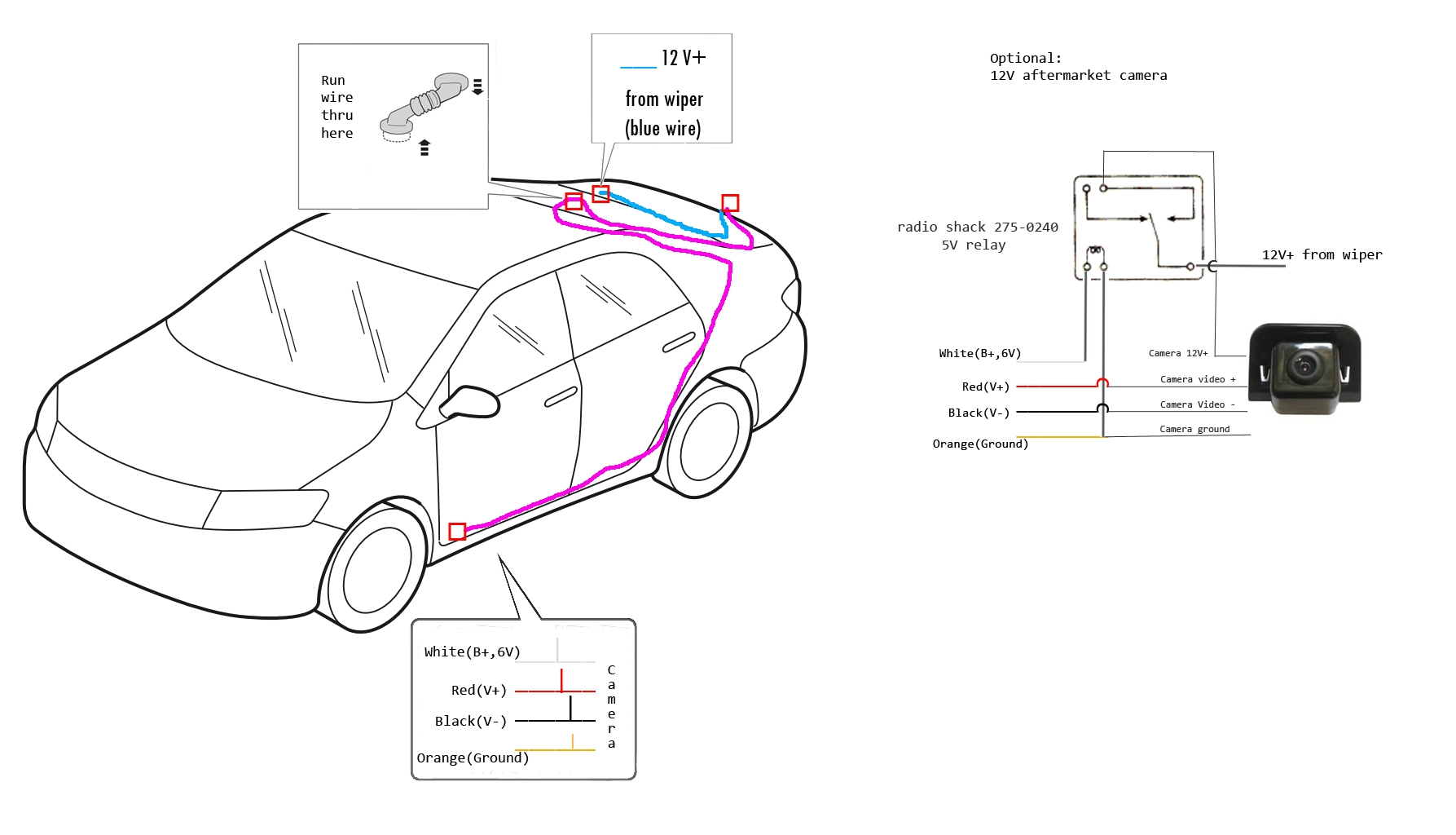 Toyota Tundra Backup Camera Wiring Diagram