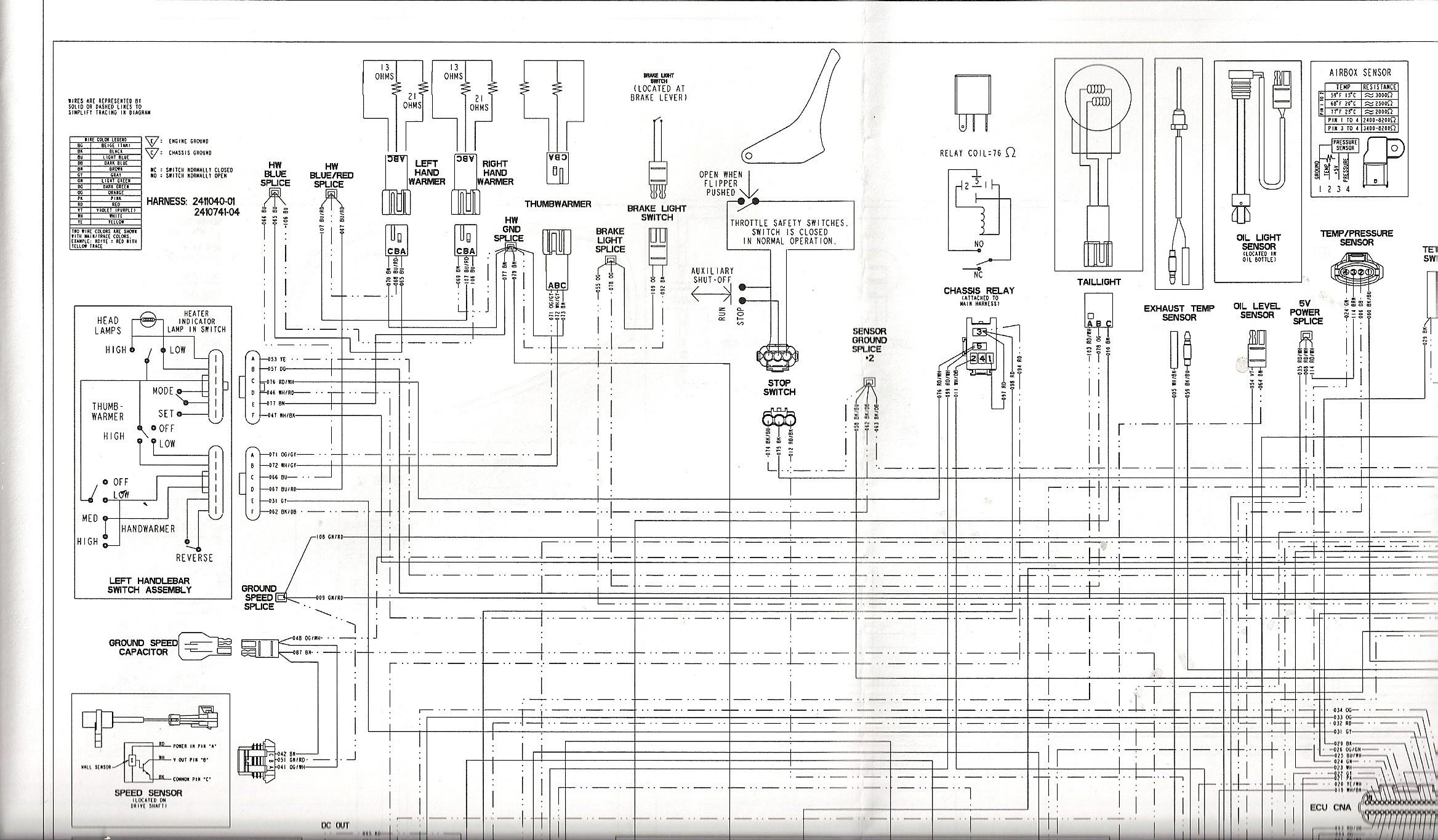 Polaris Rzr 900 Wiring Diagram