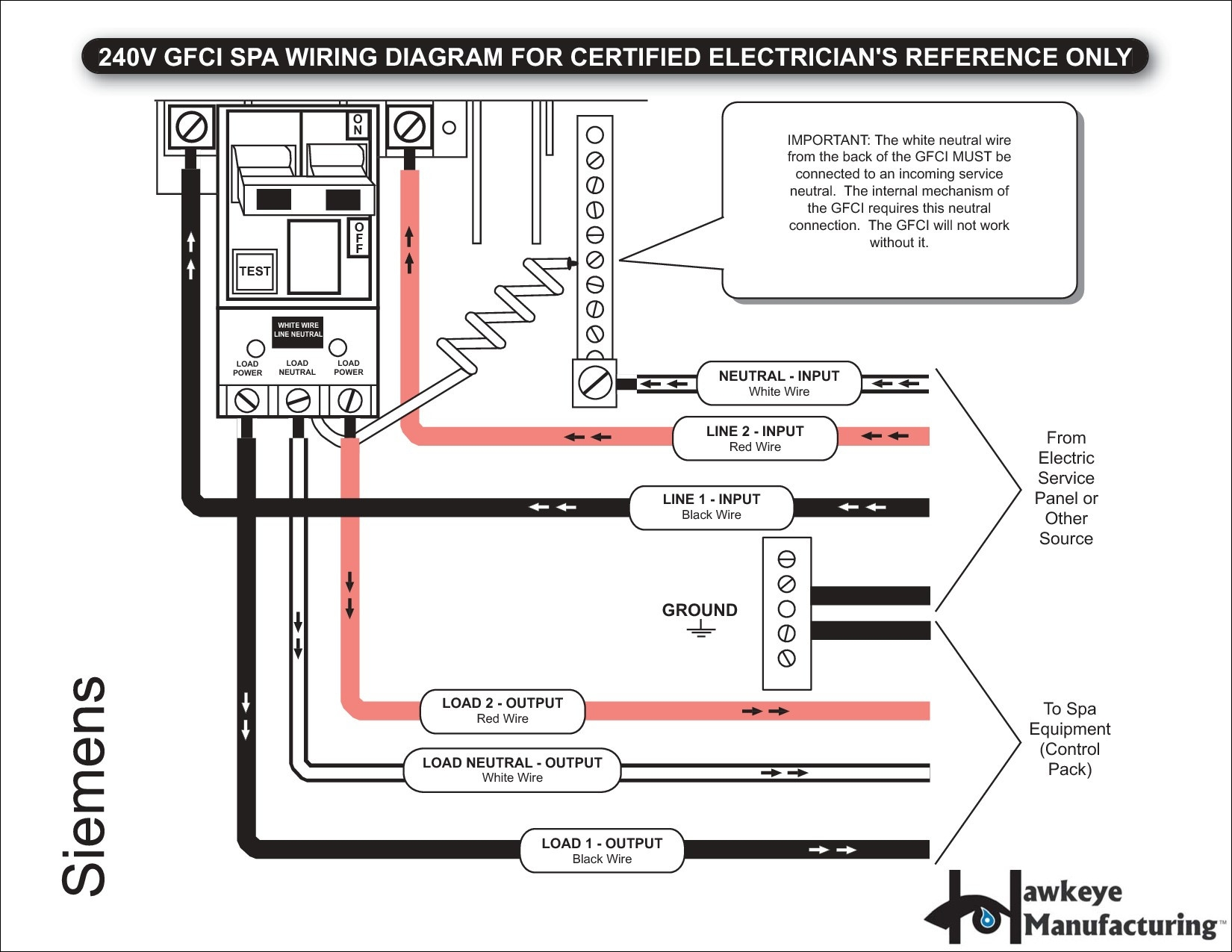 50 Amp Square D Gfci Breaker Wiring Diagram