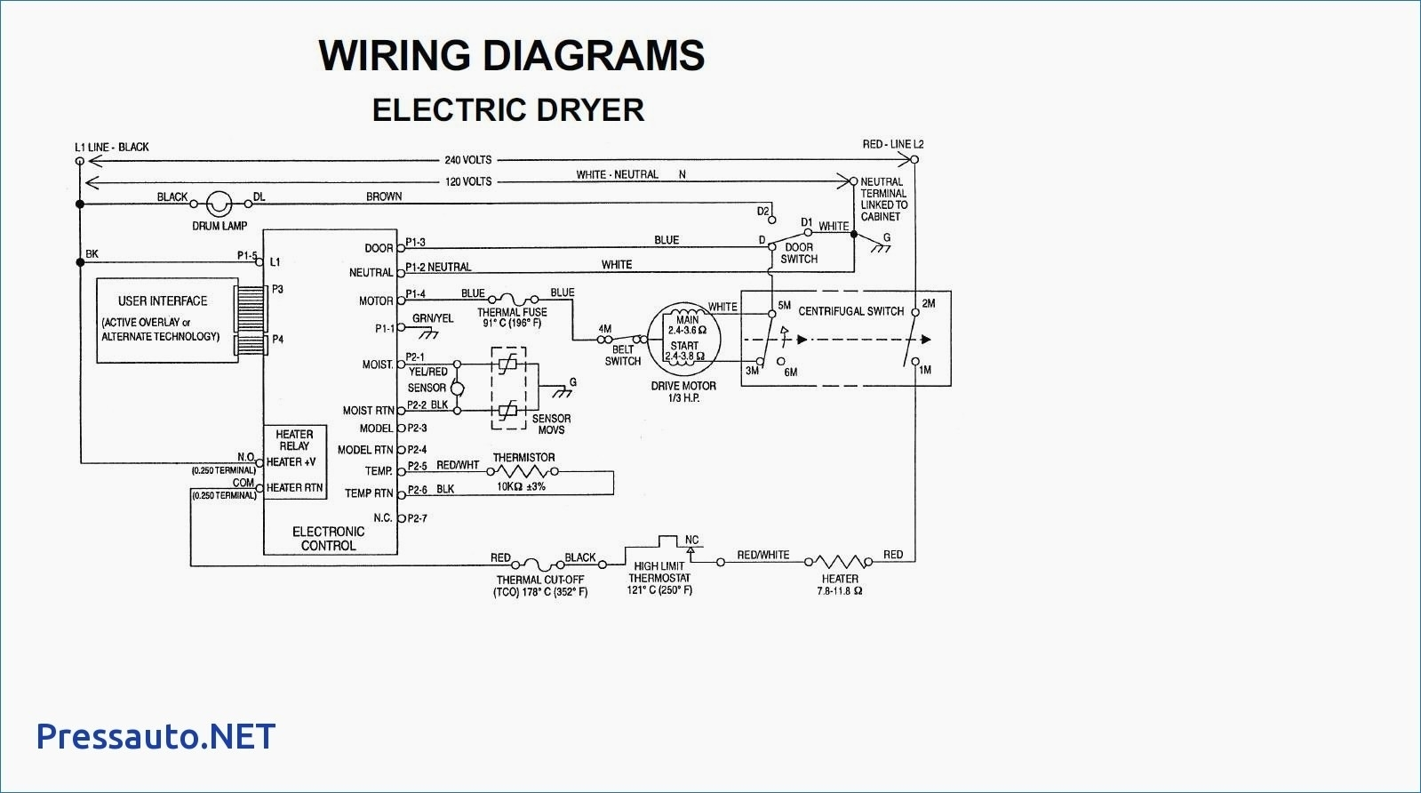 U Motor Wiring Diagram