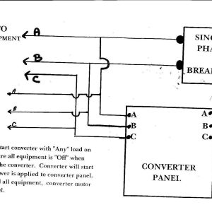 American Rotary Phase Converter Wiring Diagram | Free