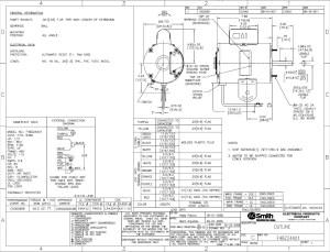 Ao Smith Motor Wiring Diagram | Free Wiring Diagram