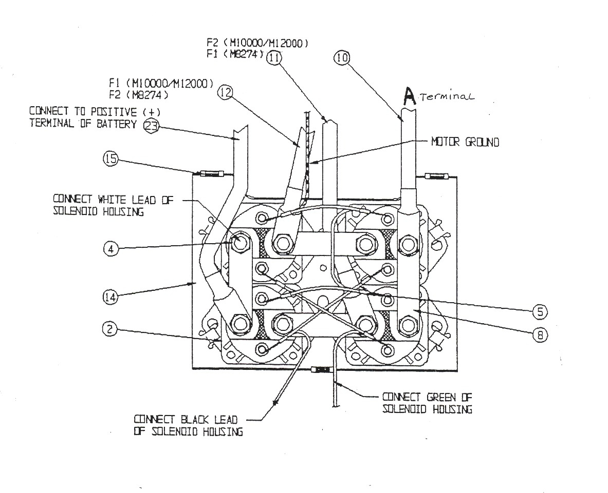 Warn Winch Diagram
