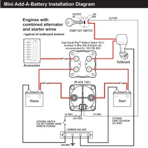 Blue Sea Dual Battery Switch Wiring Diagram | Free Wiring
