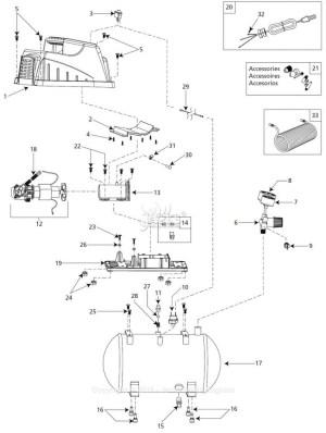 Campbell Hausfeld Air Compressor Wiring Diagram | Free