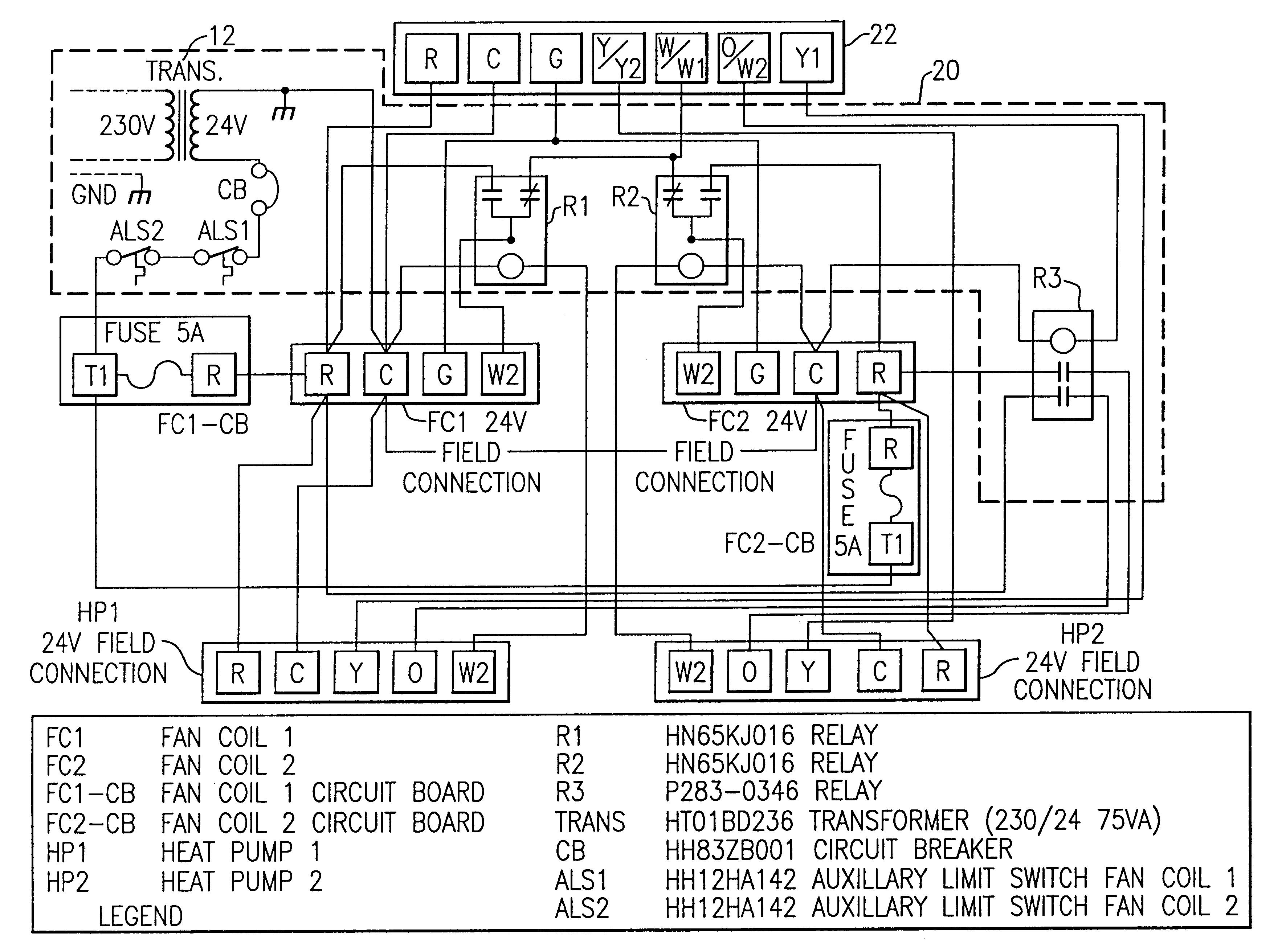 Carrier Heat Pump Low Voltage Wiring Diagram