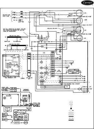 Carrier Infinity thermostat Wiring Diagram | Free Wiring