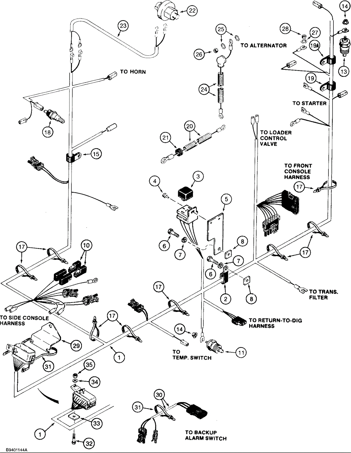 Case 580 Super M Wiring Schematic