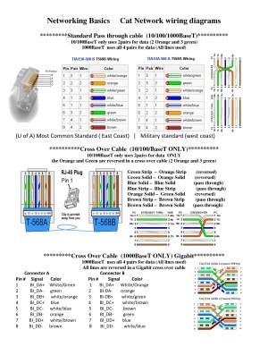 Cat 5 Wiring Diagram Pdf | Free Wiring Diagram