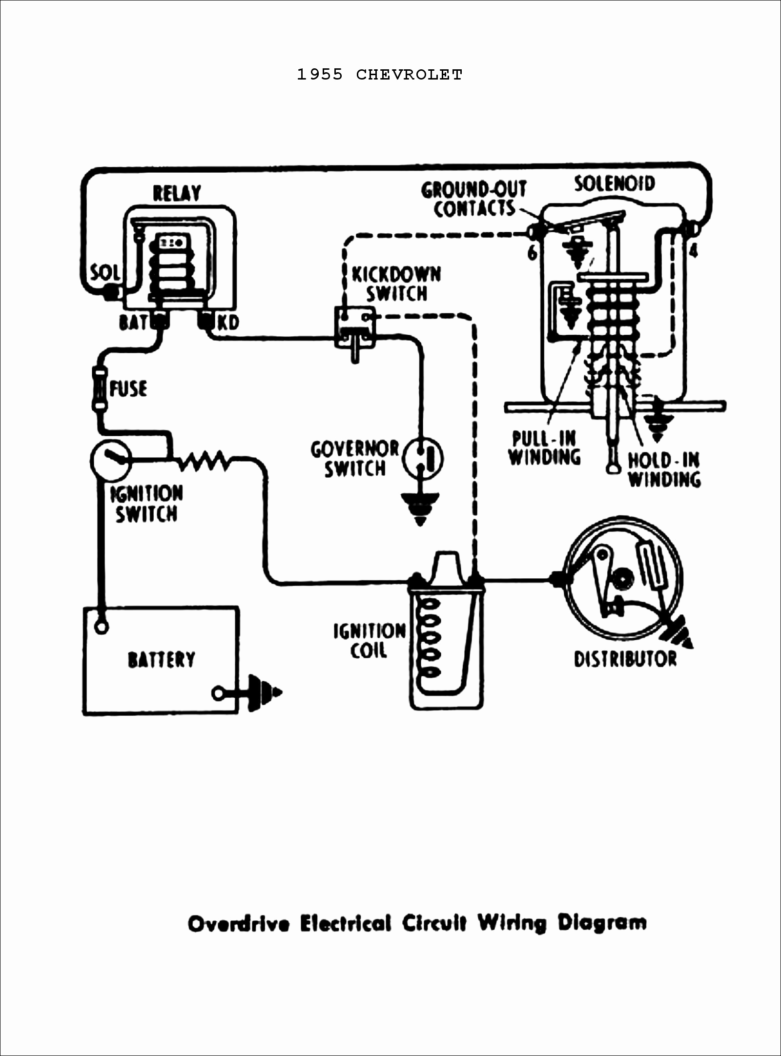 55 Chevy Wiring Schematic