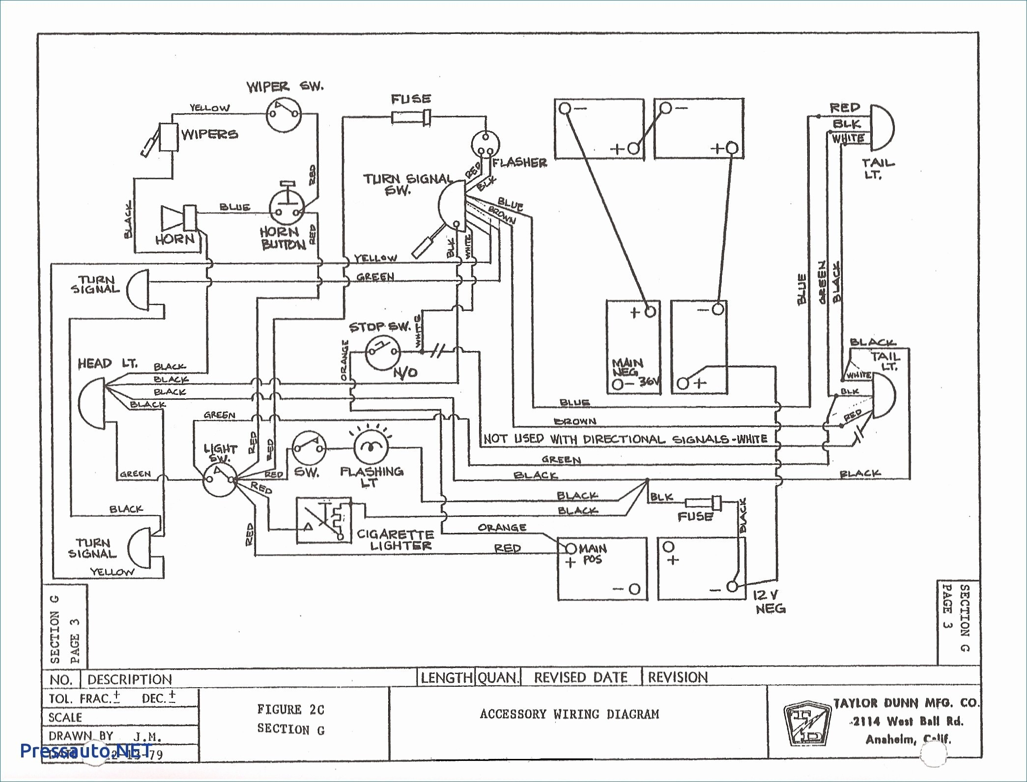 P Golf Cart Wiring Diagram