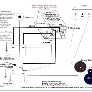 Cole Hersee Battery isolator Wiring Diagram | Free Wiring Diagram
