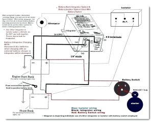 Cole Hersee Battery isolator Wiring Diagram | Free Wiring