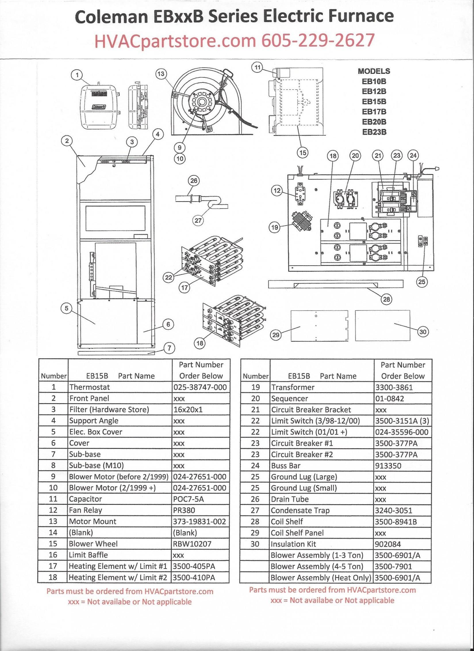 Coleman Eb15b Wiring Diagram