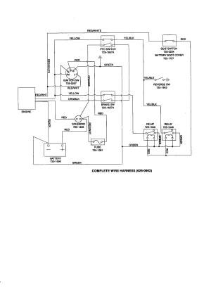 Craftsman Lawn Tractor Wiring Diagram | Free Wiring Diagram