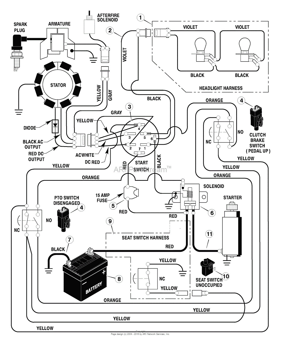Craftsman Lt Engine Schematic
