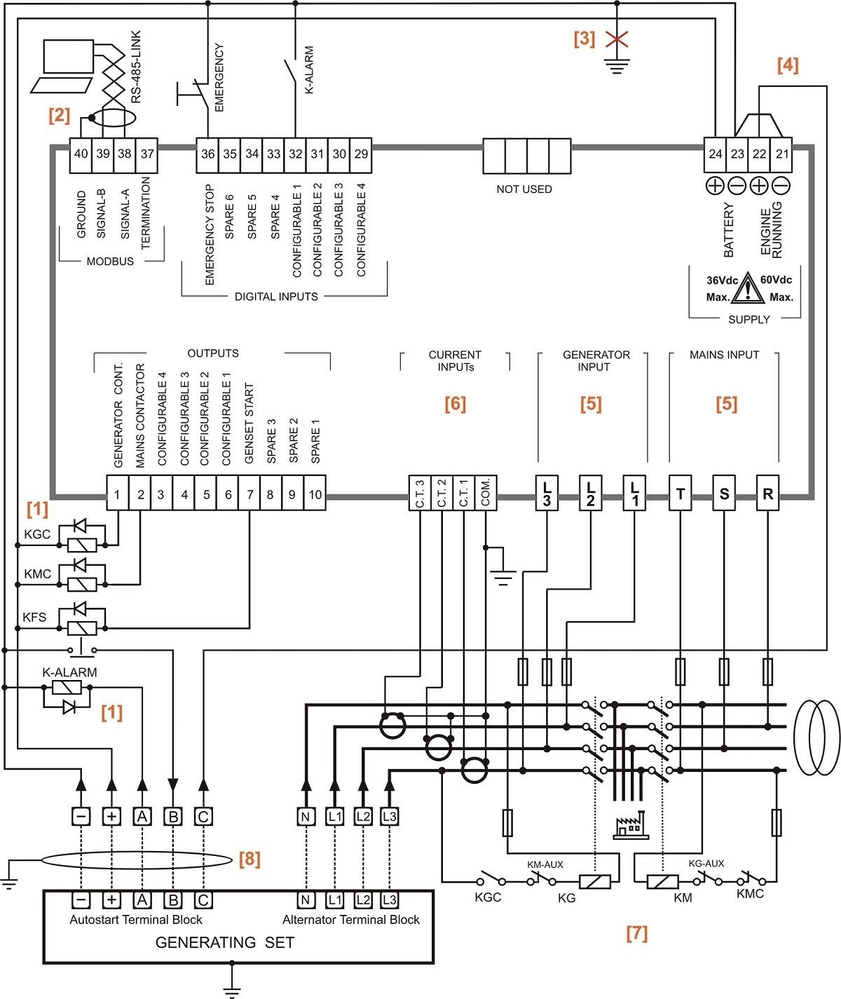 Cummins Transfer Switch Wiring Diagram