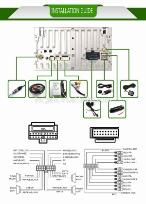 Dual Stereo Wiring Harness Diagram   Free Wiring Diagram