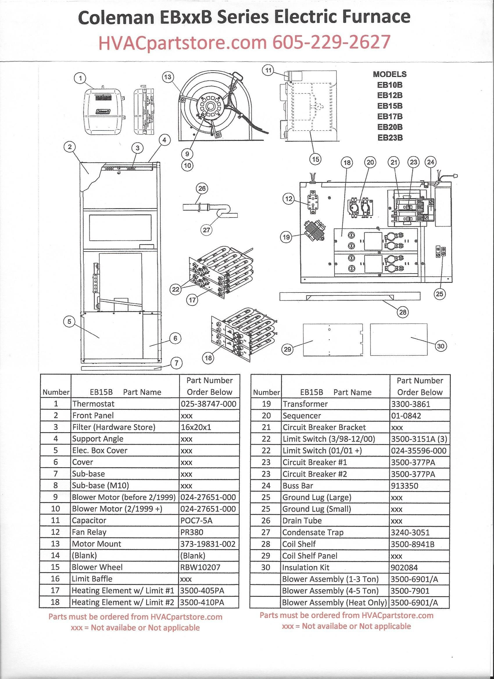 Electric Heat Furnace Wiring Diagram