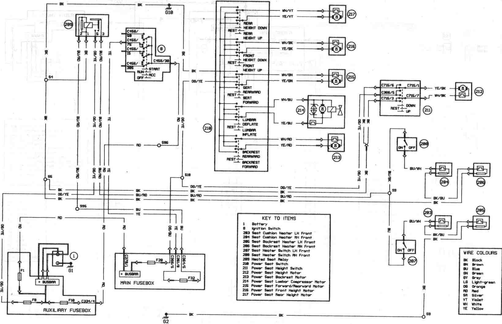 Escort Power Cord Wiring Diagram