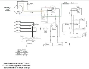 Farmall H 12 Volt Conversion Wiring Diagram | Free Wiring