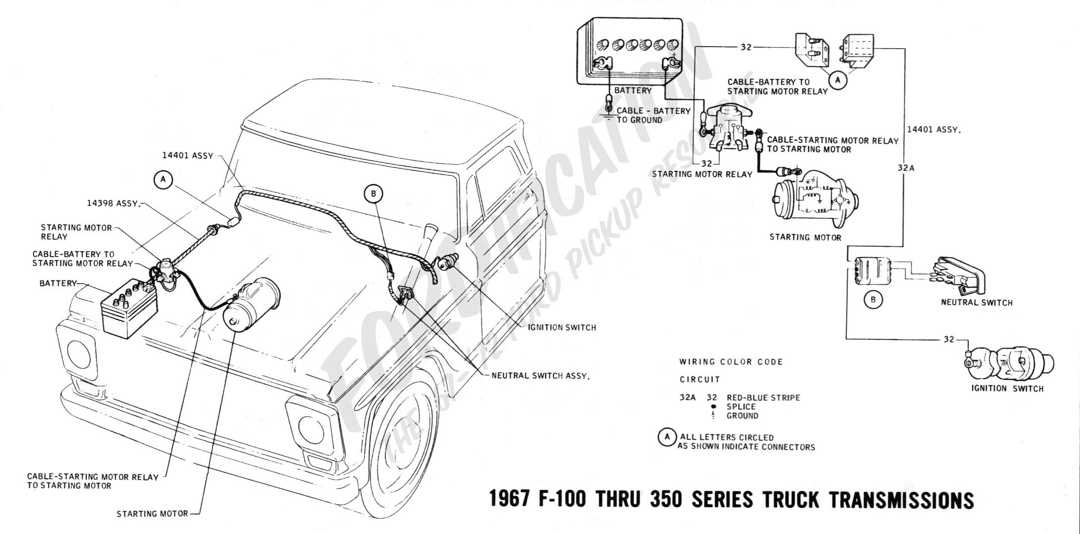 94 Ford Ranger Starter Diagram