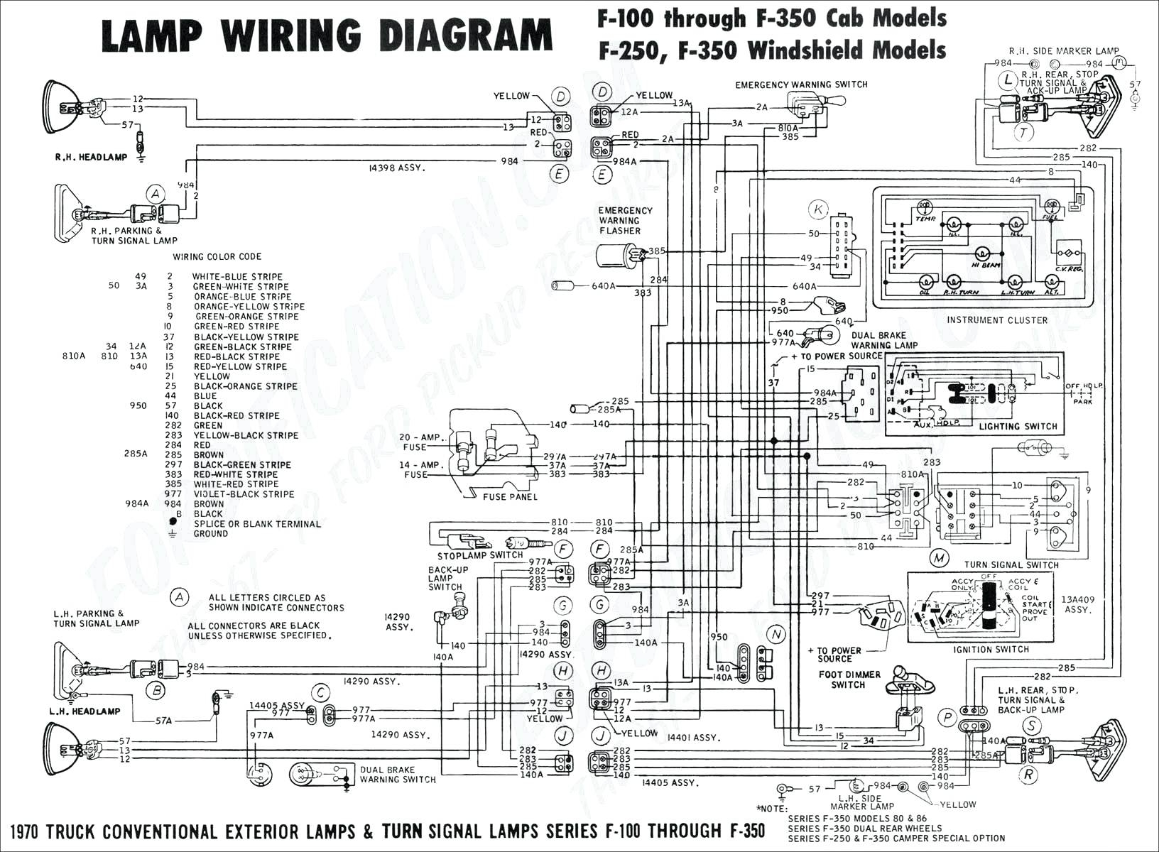 Ford F 350 Headlight Switch Wiring Diagram F350