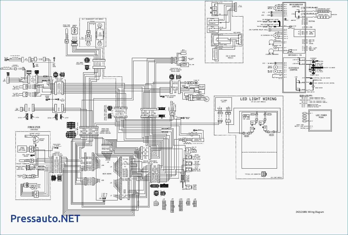 wiring diagram for whirlpool refrigerator � frigidaire ice maker wiring  diagram